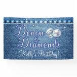 diamonds and denim poster, diamonds and denim