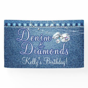 MetroEvents Denim and Diamonds Party Banner