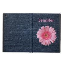 Denim and Pink iPad Air 2 Case