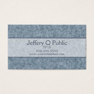 Denim Blue Business Card