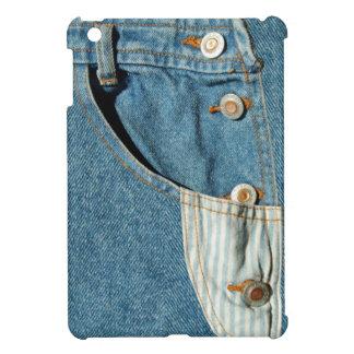 Denim Blue Jean Pocket Case For The iPad Mini