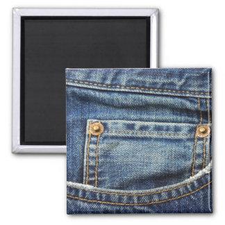 Denim - Blue Jean Pocket Magnet