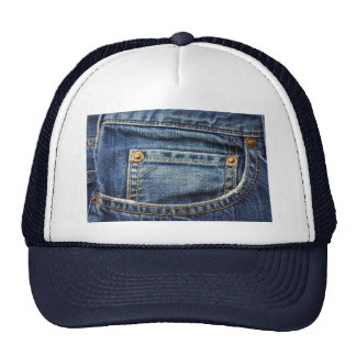 Denim - Blue Jean Pocket Trucker Hat