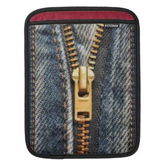 Denim Blue Jeans iPad Sleeve