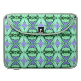 denim blue mint green diamond MacBook Sleeve Case Sleeve For MacBooks