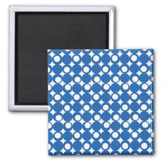 Denim Blue Mod Ball Design @ Emporio Moffa Magnet