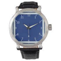Denim Blue Wristwatches