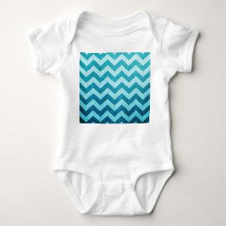 Denim Chevron Baby Bodysuit