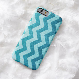 Denim Chevron by Shirley Taylor Barely There iPhone 6 Case