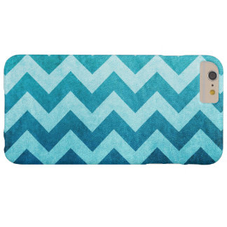 Denim Chevron by Shirley Taylor Barely There iPhone 6 Plus Case