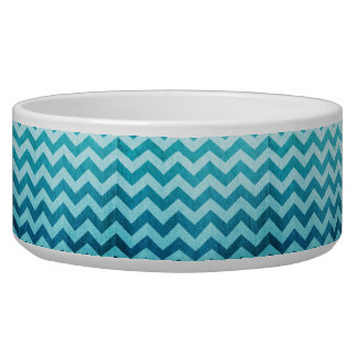 Denim Chevron by Shirley Taylor Bowl