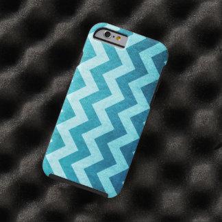Denim Chevron by Shirley Taylor Tough iPhone 6 Case