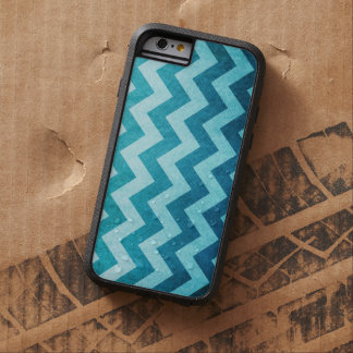 Denim Chevron by Shirley Taylor Tough Xtreme iPhone 6 Case