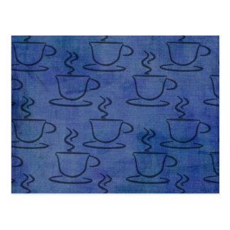 Denim Coffee Cups - Coffee Lover Gifts Postcard