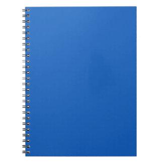 Denim Color Spiral Notebook