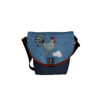 Denim Farm's Courier Bag