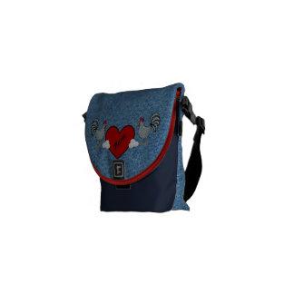 Denim Farm's Courier Bags