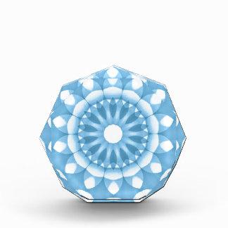 Denim Flower Kaleidoscope Acrylic Award