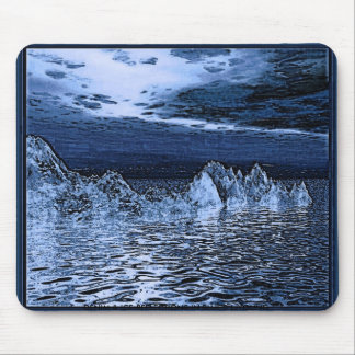 DENIM & ICE, DENIM & ICE-REFLECTIONS IN BLUE© L... MOUSE PAD