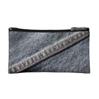 Denim Jean Cosmetic Bag