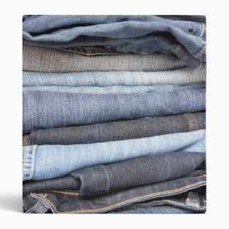 denim jeans binder