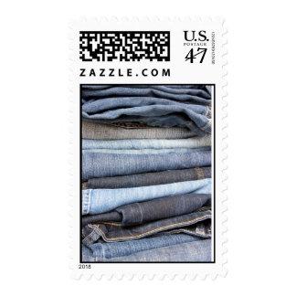 denim jeans postage stamps