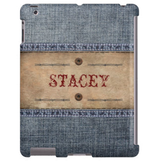 Denim Jeans Tag with Your Name