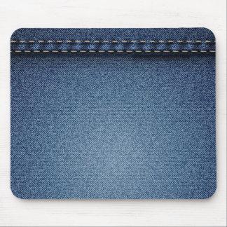 Denim Jeans Texture Mouse Pad
