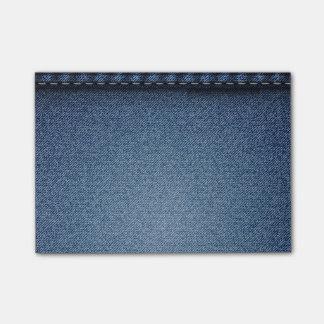 Denim Jeans Texture Post-it® Notes