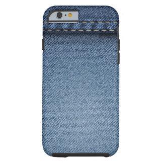 Denim Jeans Tough iPhone 6 Case