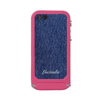 Denim Look Waterproof Case For iPhone SE/5/5s