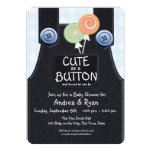 cute as button, button, denim, overalls, baby