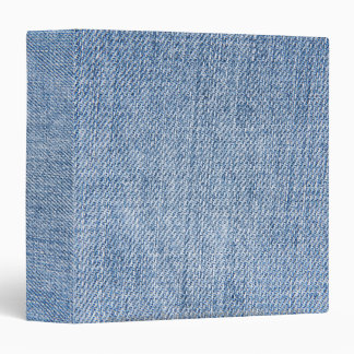 Denim pattern office Binder