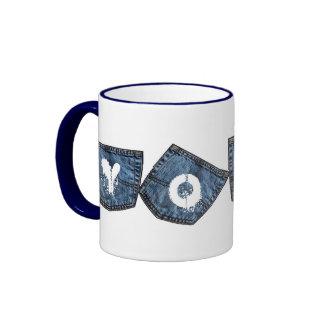 Denim Pockets - Yoga Coffee Mug