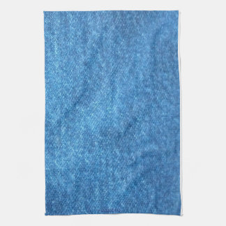 Denim Print Kitchen Towel