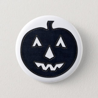 denim pumpkin button