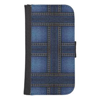 Denim Samsung S4 Wallet Case