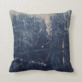 Denim scratch American MoJo Pillow