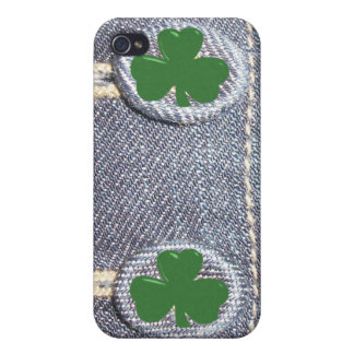 Denim Shamrock Buttons - Fashion iPhone Cases