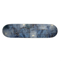 Denim Skateboard