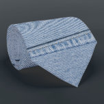 """Denim Tie with Monogram<br><div class=""""desc"""">A tie that looks like made from a jeans ;-)  Let me know if you want the back side printed,  too (about $6 more)</div>"""