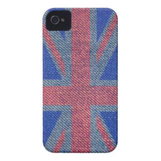 Denim UK Flag iPhone 4 Case