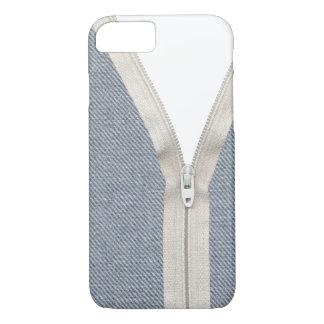 Denim unzipped iPhone 8/7 case