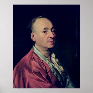 Denis Diderot  1828-29 Poster