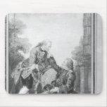 Denis Diderot y Melchior, barón de Grimm Mousepad