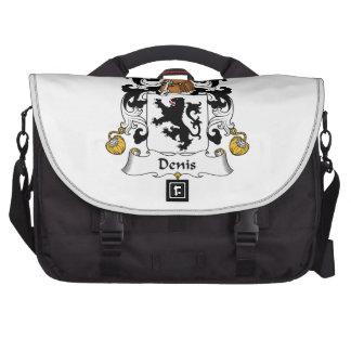 Denis Family Crest Laptop Messenger Bag