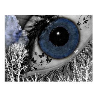 Denise Eye!@_Background Post Card
