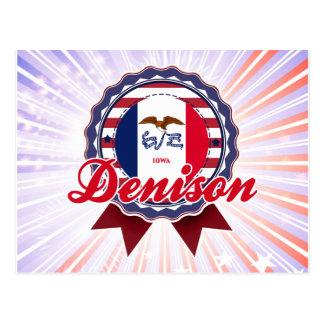 Denison IA Tarjetas Postales