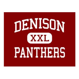 Denison - panteras - centro - asilo la Florida del Tarjeta Postal