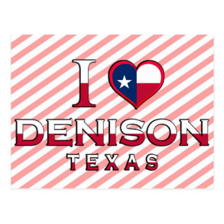 Denison Tejas Postales